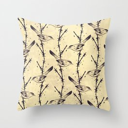 Freedom Birds Throw Pillow