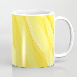 #030 - Monochrome Ink in Yellow Coffee Mug