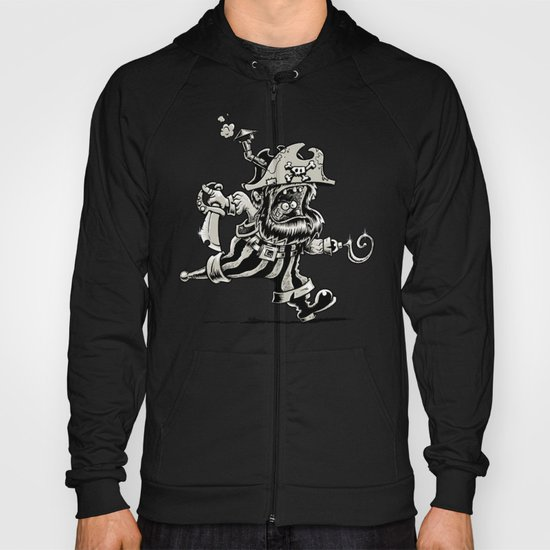 Steam powered Pirate Hoody