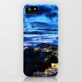 Santorini 30 iPhone Case