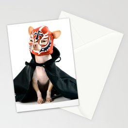 Chihuahua Luchador Stationery Cards