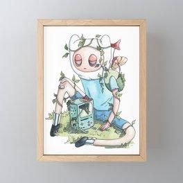 Deadly friends Framed Mini Art Print