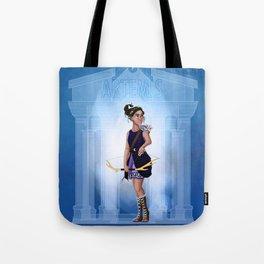 Greek Goddesses - Artemis Tote Bag