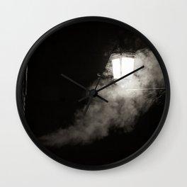 Nightly smoke Wall Clock