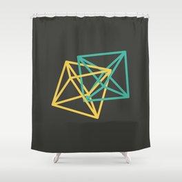 III: Octaedro Shower Curtain