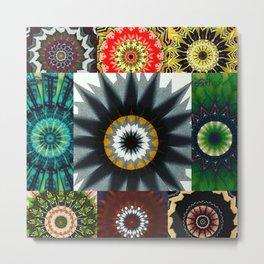 Kaleidoscope Photo Art Metal Print