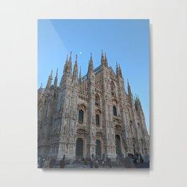 View from the Milan Duomo Metal Print