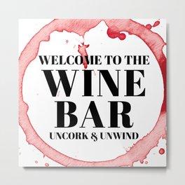 wine bar no. 1 Metal Print