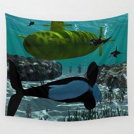 Submarine Wall Tapestry