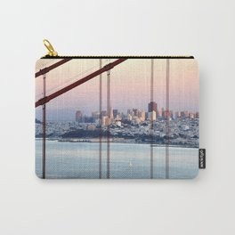 SAN FRANCISCO & GOLDEN GATE BRIDGE AT SUNSET Carry-All Pouch