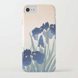 Irises, Ohara Koson, 1925 iPhone Case
