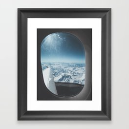Chilean Andes Framed Art Print