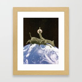 I just want to dream Framed Art Print