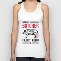 butcher billy Tank Tops featuring Butcher by rodehed
