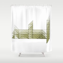 Congruence of Triangles in Light Green Shower Curtain
