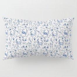 Blue Crabby Pillow Sham