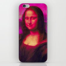 Mona Lisa's Haze (pink) iPhone & iPod Skin