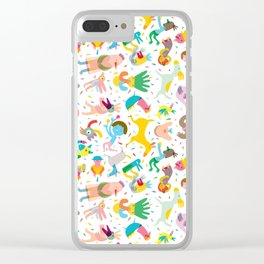 Party! Clear iPhone Case