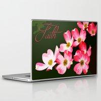 faith Laptop & iPad Skins featuring faith by Shea33