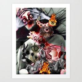 Lucifer Ascending Art Print