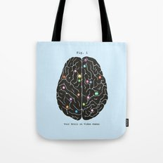 Your Brain On Video Games Tote Bag