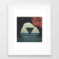 portal Framed Art Prints featuring Portal by maysgrafx