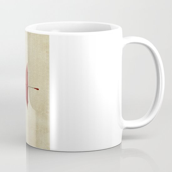 the umbrella runneth over and over Mug
