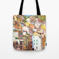 italy Tote Bags featuring Italy by GF Fine Art Photography