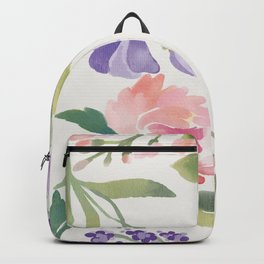 Flowers are always a good idea! Backpack