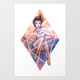 Honesty Art Print