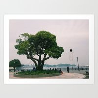 yokosuka, alone Art Print
