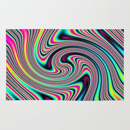Colorful stripes Rug