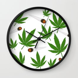 Legalize It Wall Clock