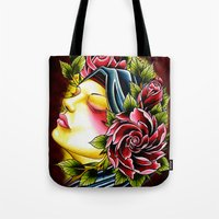 gypsy Tote Bags featuring Gypsy by Voss fineart