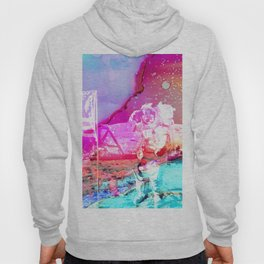 Trippy Astronaut in Space Paint Hoody