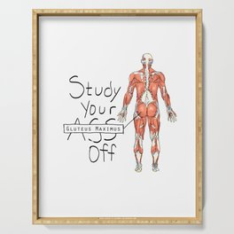 Study Your Gluteus Maximus Off Serving Tray
