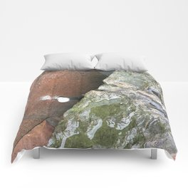 Glass Rock. Fashion Textures Comforters