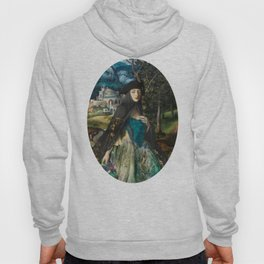 """Mystery woman in the forest among flowers"" Hoody"
