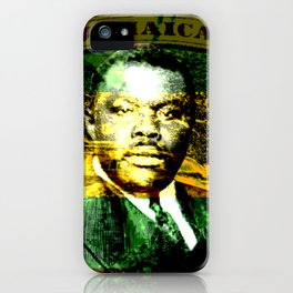 Marcus Garvey Jamaican Freedom fighter iPhone Case
