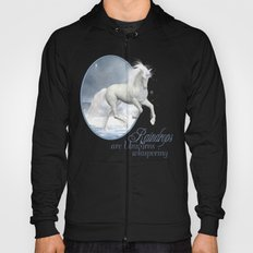 White Unicorn Hoody