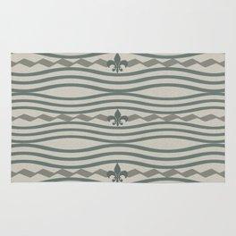 Corduroy Pattern Lines Rug