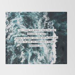 Jeremiah Ocean Throw Blanket