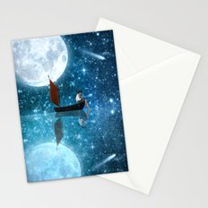 The Moon and Me v2 Stationery Cards