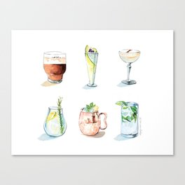 Cocktail season! Canvas Print