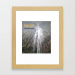 mays kost Framed Art Print