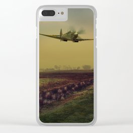 Low At Fairfield Clear iPhone Case