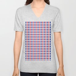 Flag of France 2- France, Français,française, French,romantic,love,gastronomy Unisex V-Neck