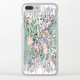 Sunday Scarries Clear iPhone Case