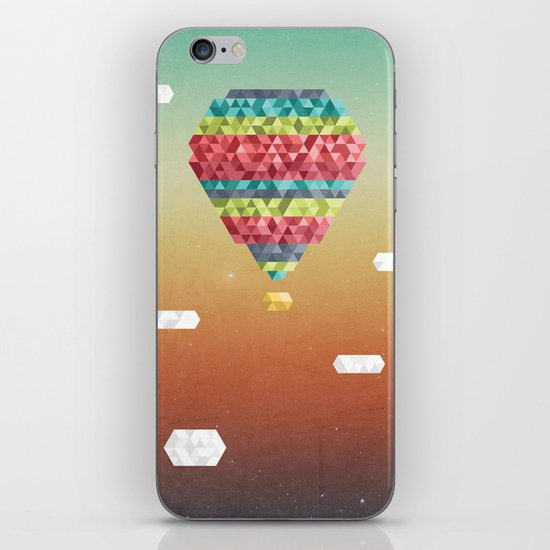 Triangular Skies iPhone & iPod Skin