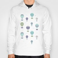 hot air balloons Hoodies featuring Hot Air by Styloclay